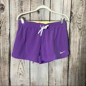 Nike Purple Running Shorts Small